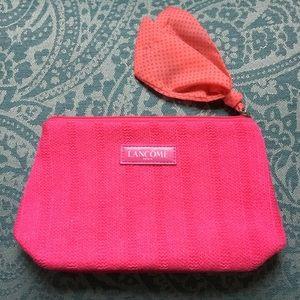 Lancôme Pink Sweater Cosmetic Case
